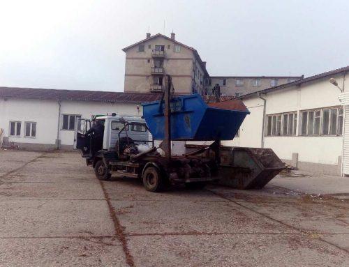 Механизъм за отстраняване и изхвърляне на битови отпадъци