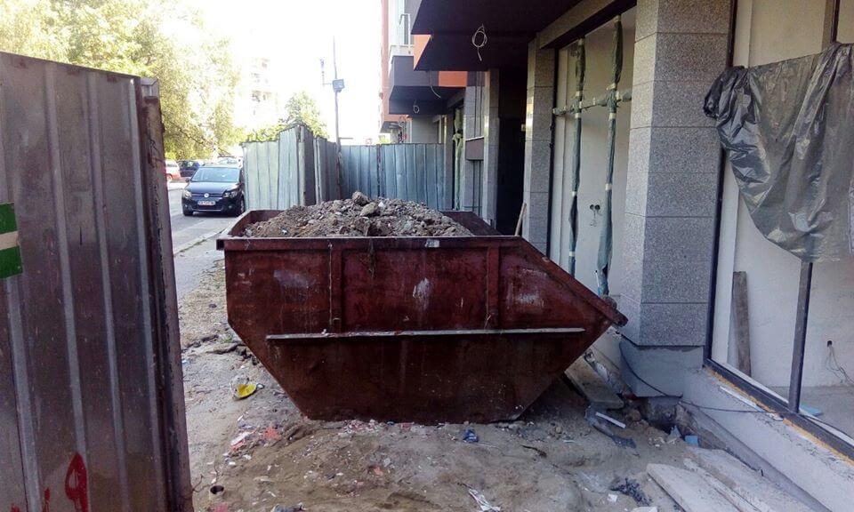 контейнер-за-строителни-отпадъци-пълен