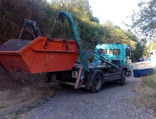 Извозване на строителни отпадъци от лицензирана фирма
