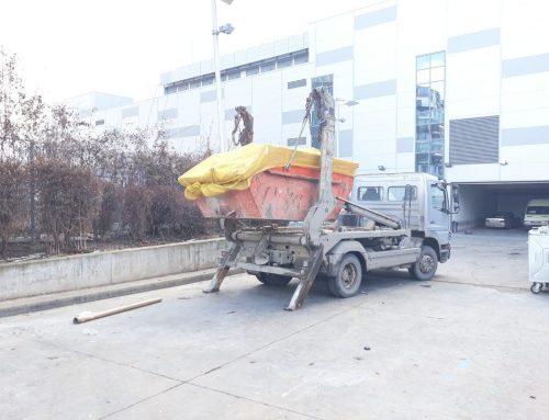 Извозване на боклука от гаража