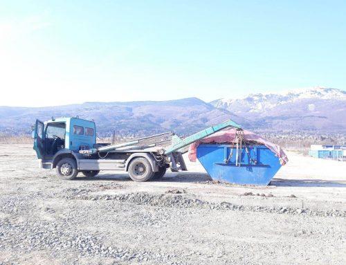 Извозване на строителни отпадъци от нова сграда