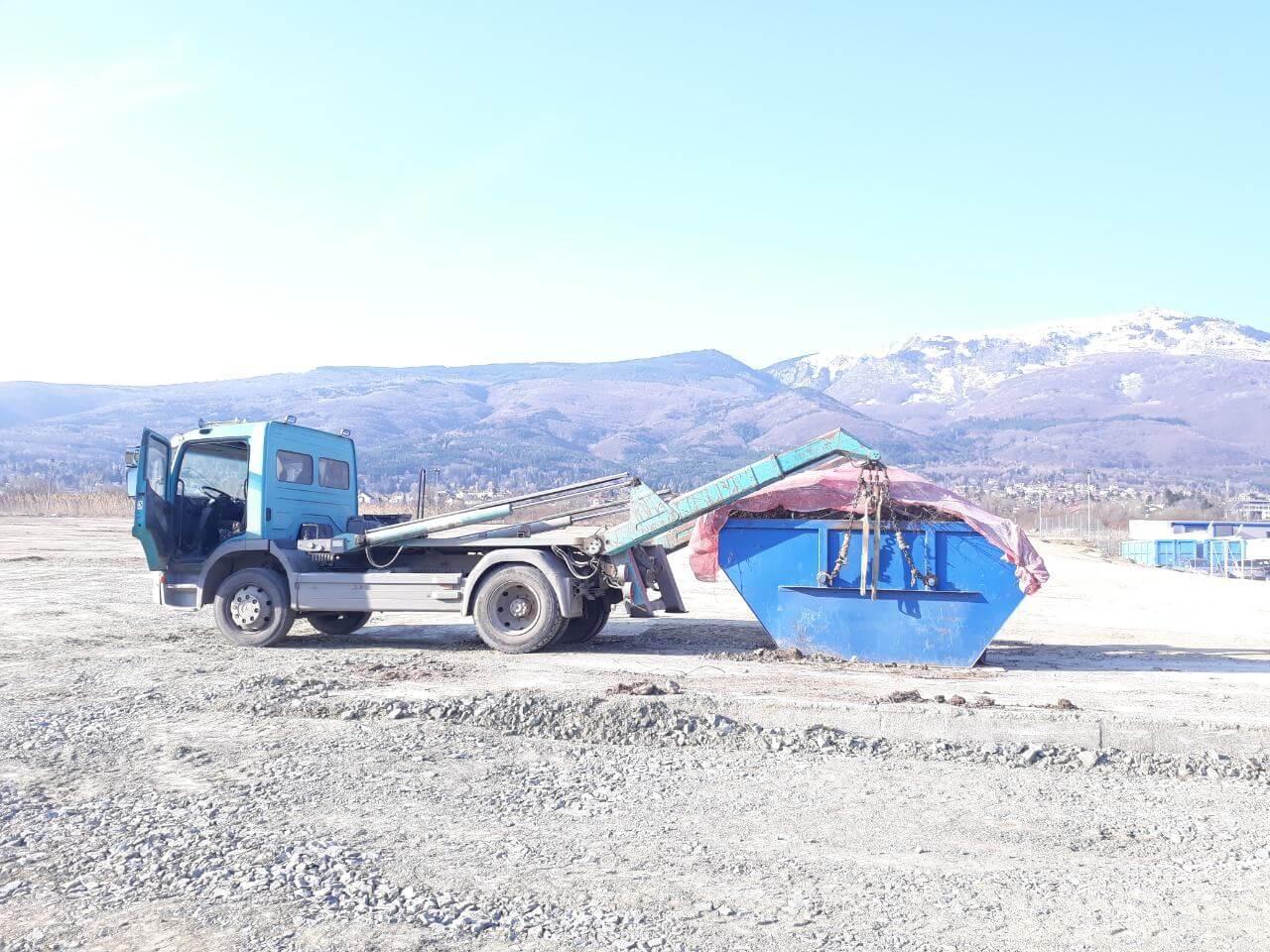 контейнери за транспортиране