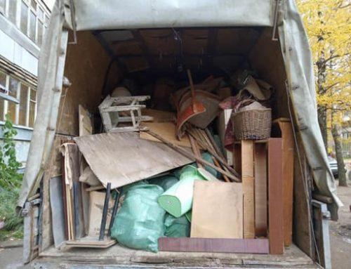 Премахване на боклука след демонтаж в апартамента
